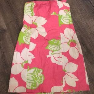 Pink Strapless Lilly